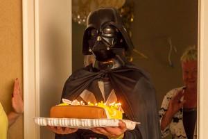 День Рождения с Дарт-Вейдером и Принцессой Леей