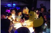 Песочное шоу на день рождения СПб