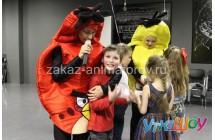 Детский праздник с аниматорами Энгри Бердс (Angry Birds)