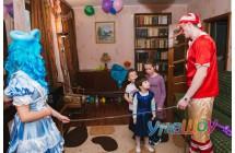 Детский праздник с аниматором Буратино
