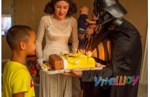 Аниматор Дарт Вейдер на день рождения