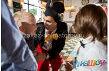 Аниматор Микки маус и Минни маус на день рождения