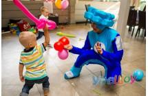 Фиксик Нолик на день рождения ребенка