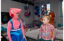 Аниматор свинка Джордж на день рождения