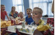 Аниматор Паровозик из ромашково  на день рождения