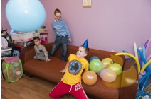 Аниматор Петрушка на день рождения