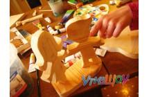 Мастер класс деревянная игрушка