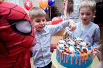 День рождения с Человеком Пауком