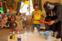 День рождения с Дартом Вейдером и Леей