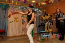 шоу мыльных пузырей на выпускной 2017